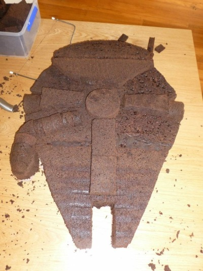 That Time I Made A Millennium Falcon Birthday Cake Once