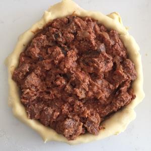 filling in pie